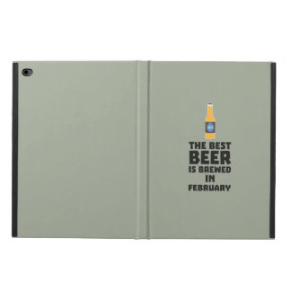 Best Beer is brewed in February Z4i8g Powis iPad Air 2 Case