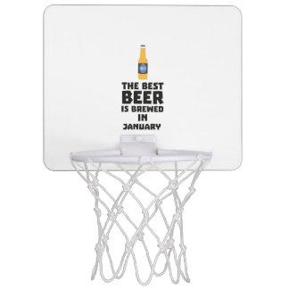 Best Beer is brewed in January Zxe8k Mini Basketball Hoop
