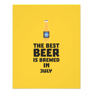 Best Beer is brewed in July Z4kf3 Flyer
