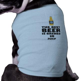 Best Beer is brewed in July Z4kf3 Shirt
