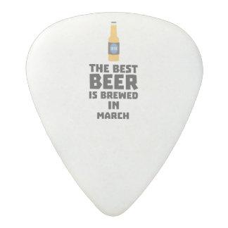 Best Beer is brewed in March Zp9fl Acetal Guitar Pick