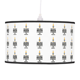 Best Beer is brewed in March Zp9fl Pendant Lamp