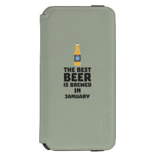 Best Beer is brewed in May Z96o7 Incipio Watson™ iPhone 6 Wallet Case