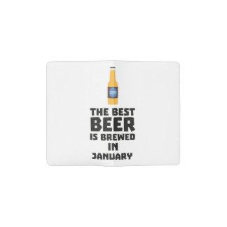 Best Beer is brewed in May Z96o7 Pocket Moleskine Notebook