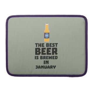 Best Beer is brewed in May Z96o7 Sleeve For MacBook Pro