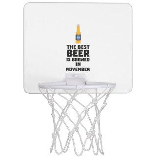 Best Beer is brewed in November Zk446 Mini Basketball Hoop