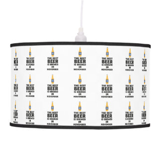 Best Beer is brewed in November Zk446 Pendant Lamp