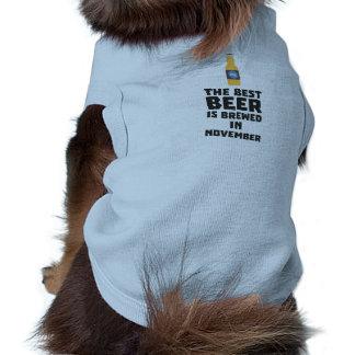 Best Beer is brewed in November Zk446 Shirt