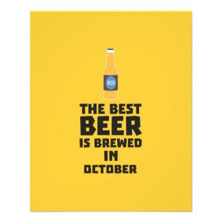 Best Beer is brewed in October Z5k5z Flyer