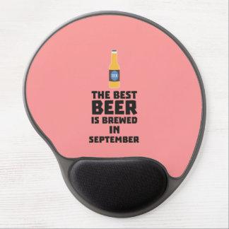 Best Beer is brewed in September Z40jz Gel Mouse Pad