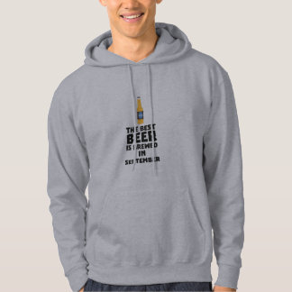 Best Beer is brewed in September Z40jz Hoodie