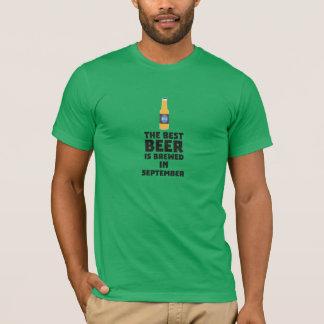 Best Beer is brewed in September Z40jz T-Shirt