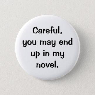 Best behavior 2 inch round button