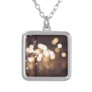 Best Birthday Gift Silver Plated Necklace