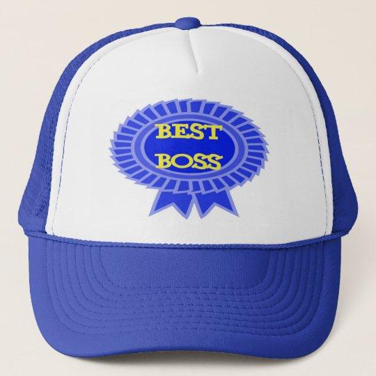 Best Boss Award Trucker Hat