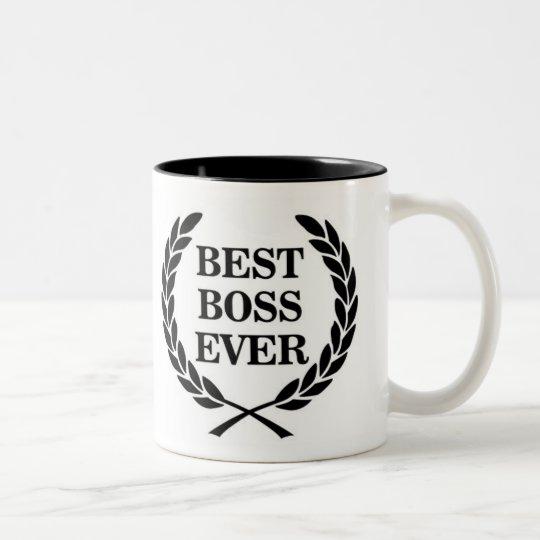 best boss ever award two tone coffee mug zazzle ca