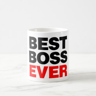 Best Boss Ever Classic White Coffee Mug