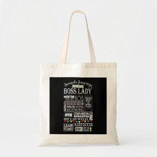 best Boss lady bag, customise with name Tote Bag