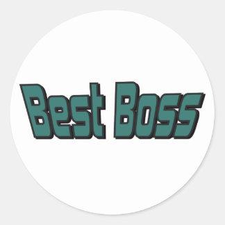 Best Boss Stickers