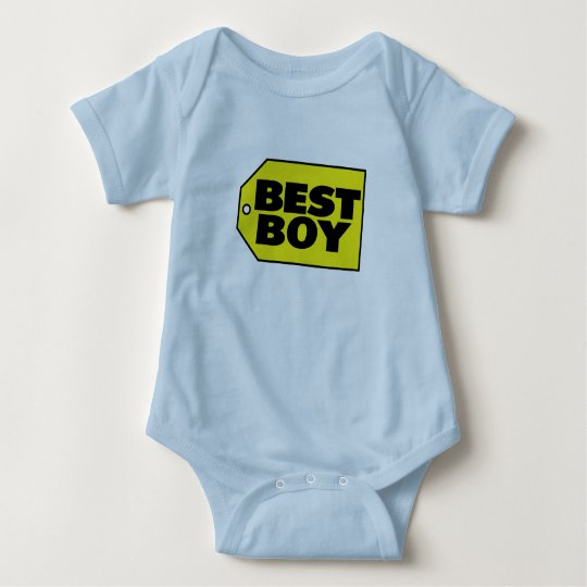 Best Boy Baby Bodysuit