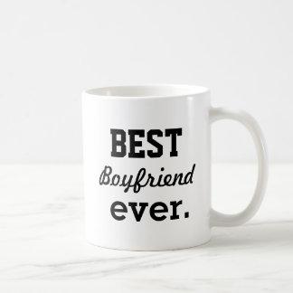 """Best boyfriend ever"" Personalized Coffee Mug"