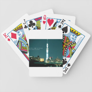 """""""Best brand world top modern art photo design """" Bicycle Playing Cards"""