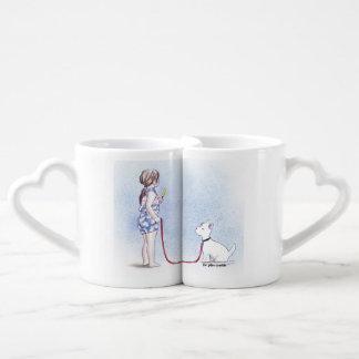 Best Buddies, nesting mugs. Coffee Mug Set