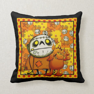 Best Buddies Trick Or Treat Throw Pillow