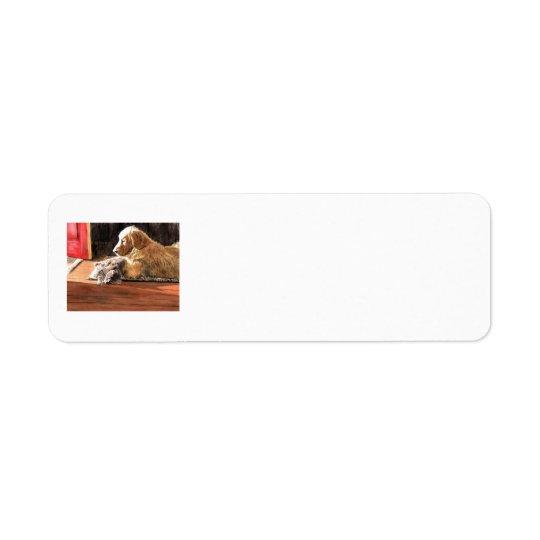 Best Buds Return Address Label