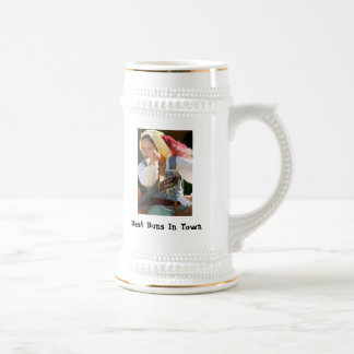 Best Buns In Town, HitherDither and Yon 18 Oz Beer Stein