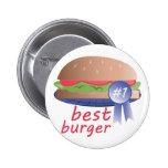 Best Burger 2 Inch Round Button