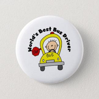 Best Bus Driver 2 Inch Round Button