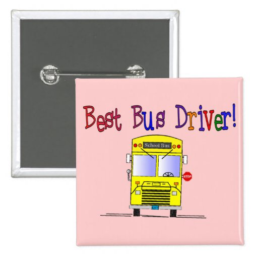 Best Bus Driver Gifts Pins
