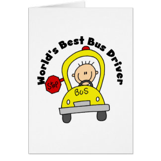 Best Bus Driver Greeting Card