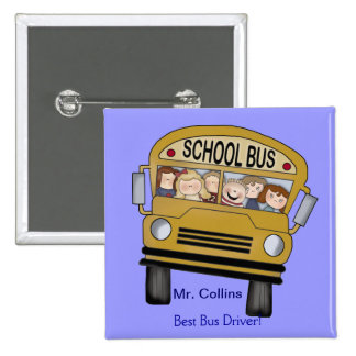 Best Bus Driver Pin