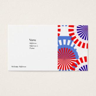 BEST BUSINESS CARDS - TEAR PROOF - PATRIOTIC COLOR