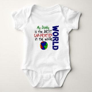 Best Carpenter In World 2 (Daddy) Baby Bodysuit