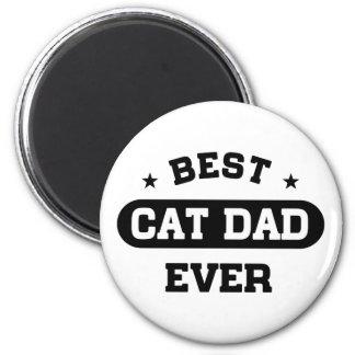 Best Cat Dad Ever Magnet