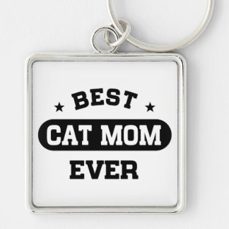 Best Cat Mom Ever Keychain