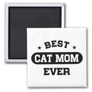 Best Cat Mom Ever Magnet