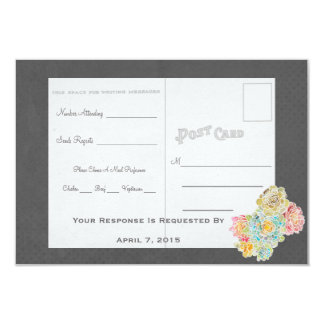 Best Chalkboard Vintage RSVP Wedding Suite of - Card