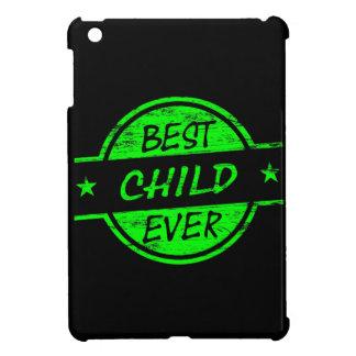 Best Child Ever Green iPad Mini Case