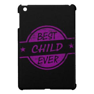 Best Child Ever Purple iPad Mini Cover
