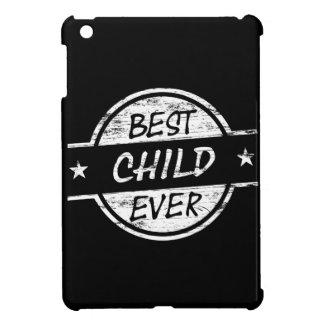 Best Child Ever White iPad Mini Covers
