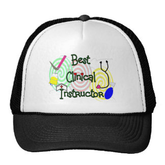 Best Clinical Instructor Nursing Gifts Trucker Hat