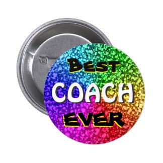 Best Coach Ever Button