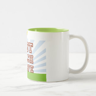 Best Coach in Life! Two-Tone Coffee Mug