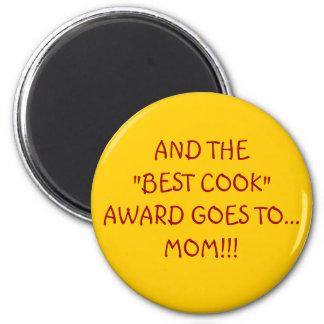BEST COOK AWARD 2 INCH ROUND MAGNET