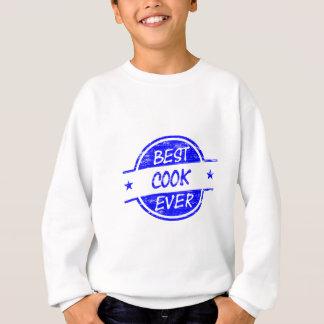 Best Cook Ever Blue Sweatshirt