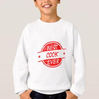 Best Cook Ever Red Sweatshirt